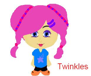 twinkles